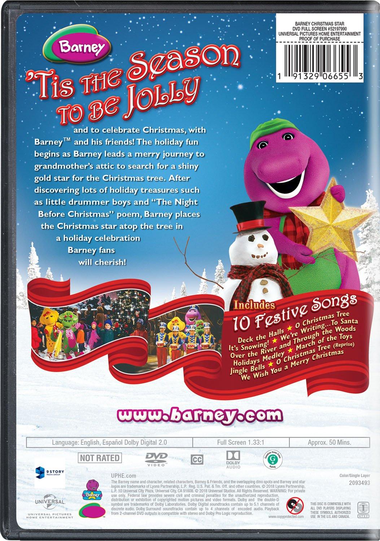 Amazon.com: Barney: Christmas Star: Carey Stinson, Tim Dever, Jeff ...