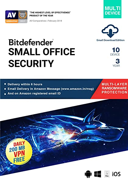 Bitdefender Small Office Security (Windows/Mac/iOS/Android