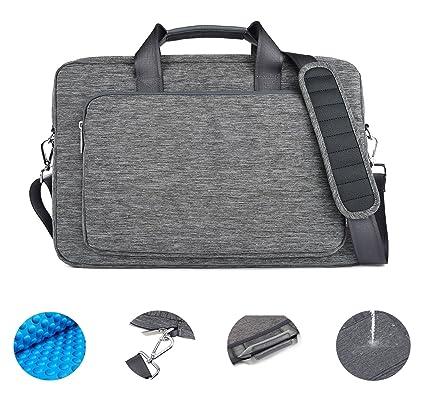 Maletín Messenger Bag, GEARMAX 17,3 pulgadas – Funda acolchada de nailon para tejidos