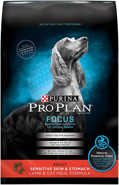 Amazon Com Purina Pro Plan Focus Sensitive Skin Stomach Lamb