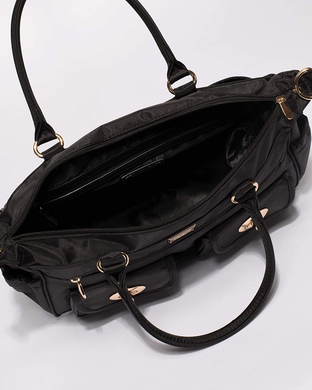 Colette Hayman - Mini Travel Black Baby Bag  Amazon.com.au  Fashion 4995b05e933dc