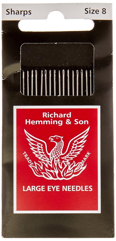 Hemming Needle Sharps Size 8 20pc