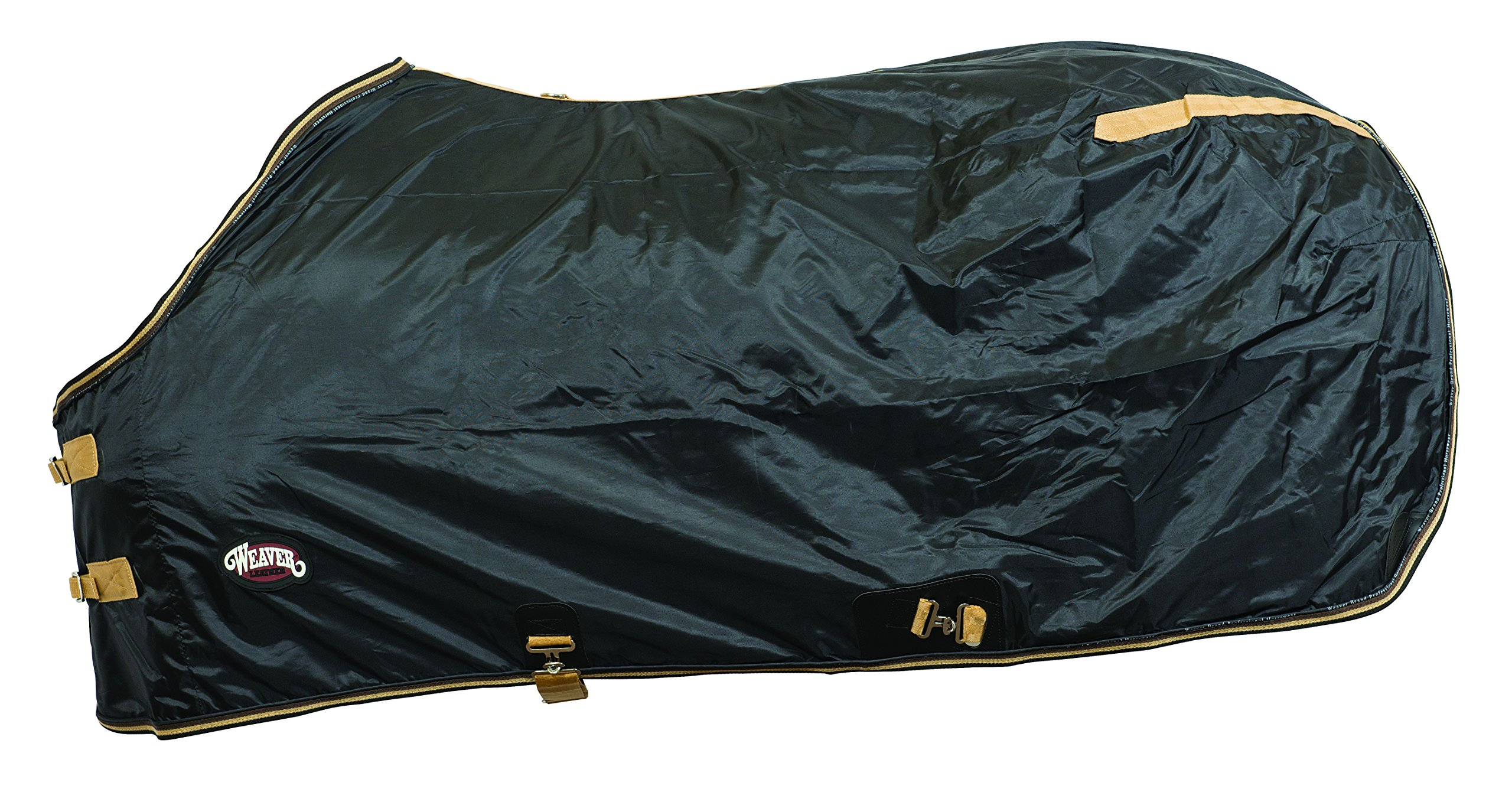 Weaver Lightweight Nylon Horse Turnout Sheet - Size:84'' Color:Black by Weaver Leather