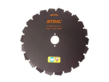 Amazon stihl chisel tooth circular saw blade 200 mm79 stihl chisel tooth circular saw blade 200 mm79quot greentooth Images