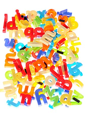 Early Learning Centre 137253 Lower Case Magnetic Letters Amazonco