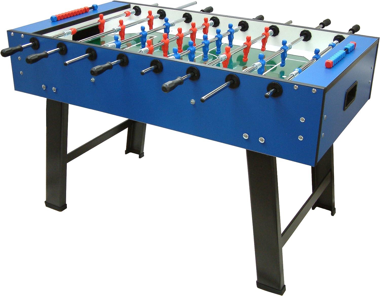 Mightymast Leisure Smile Table - Futbolín de fútbol, Color Azul ...