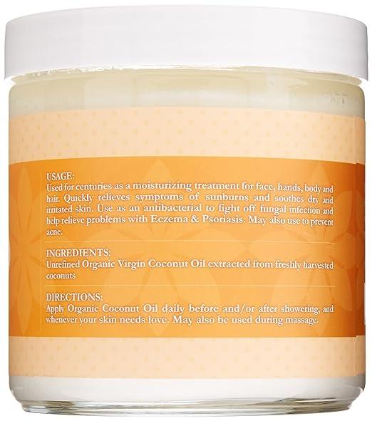 Ah Shayh - Organic Unrefined Virgin Coconut Oil (Glass Jar)