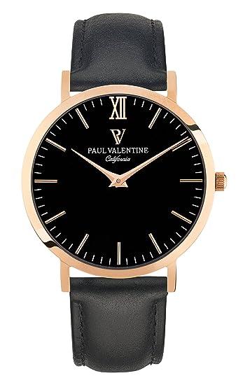 Paul Valentine Reloj de pared, diseño de chica con enganche para cinturón, color negro: PAUL VALENTINE: Amazon.es: Relojes