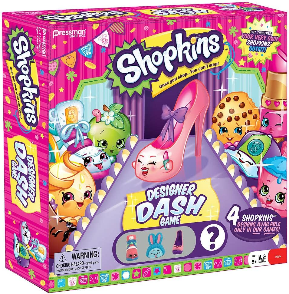 Amazon Com Shopkins Designer Dash Game Toys Games