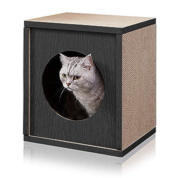 Amazon.com: Way Basics Cubo de rascador ecológico para gatos ...