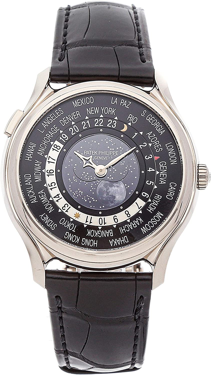 Patek Philippe Complications Mechanical (Automatic) Black Dial Mens Watch 5575G-001 (Certified Pre-Owned)
