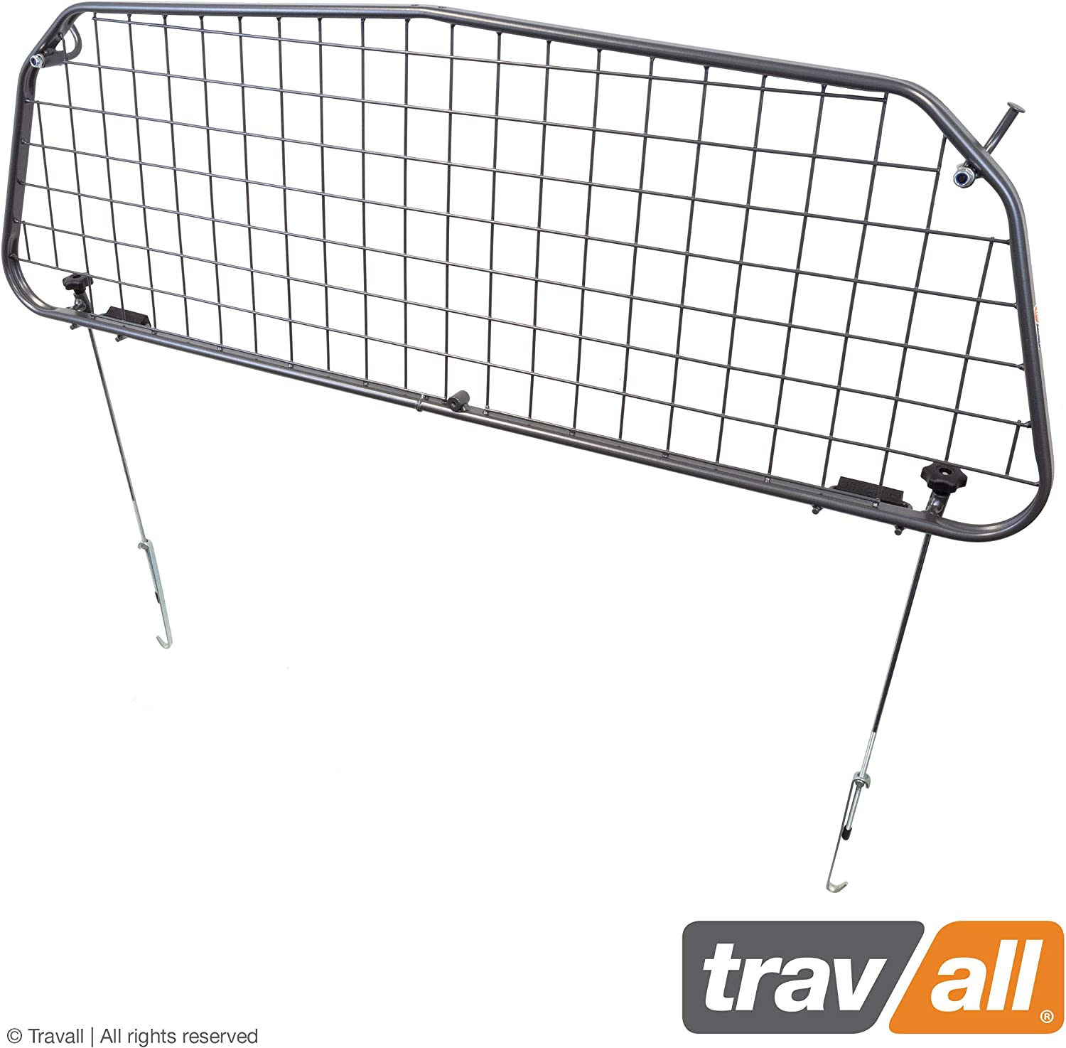 Travall Guard Compatible with Mercedes-Benz M-Class 2005-2011 TDG1046 – Rattle-Free Steel Pet Barrier
