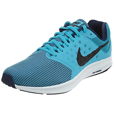 nike mens black downshifter 7 running shoe