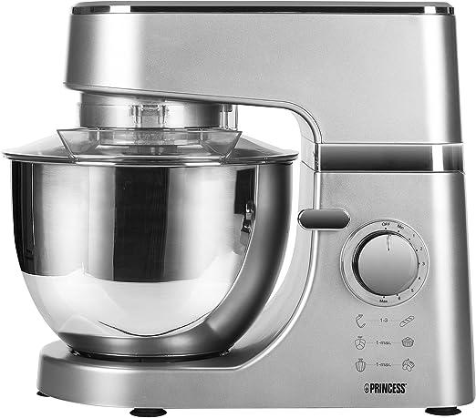 Princess 01.220122.01.001 Robot de cocina, 700 W, 4.5 litros ...
