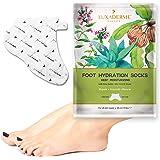 LuxaDerme Deep Moisturising Foot Hydration Socks