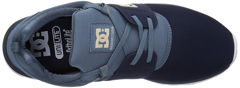 DC Men's Heathrow Casual Skate Shoe B075984VGF 7 D D US|Navy/Khaki