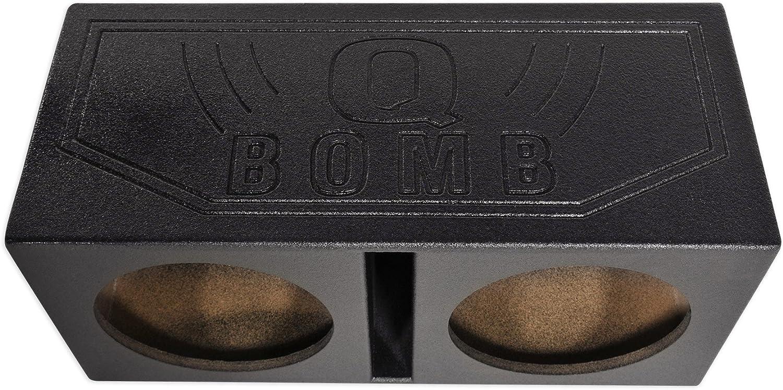 ft Rockville Dual 12 1.1 cu Vented Subwoofer Sub Box Enclosure w//Bed Liner