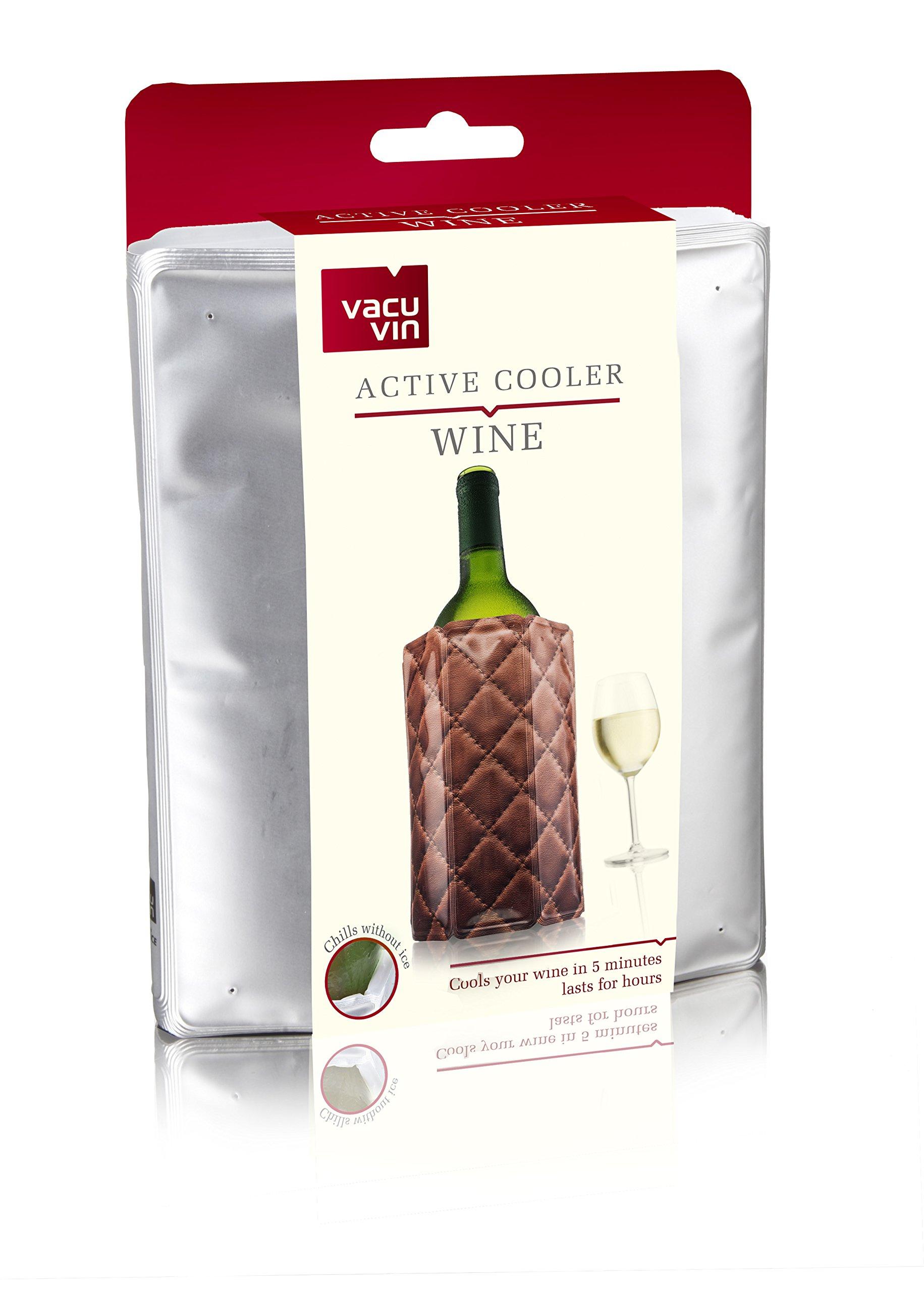 Vacu Vin Rapid Ice Wine Cooler - Chrome by Vacu Vin (Image #4)
