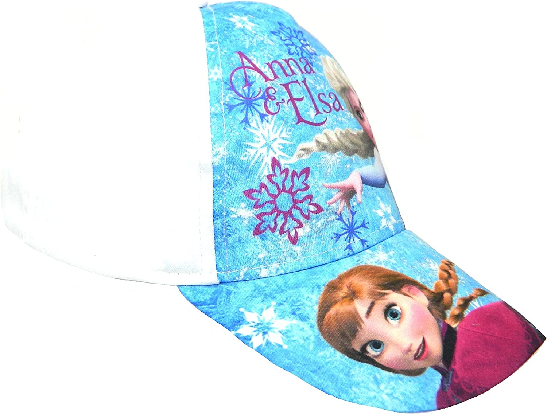 Disney Little Boys Girls Frozen Baseball Caps Summer Hats Elsa /& Anna Velco Fastening