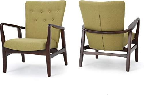 Christopher Knight Home Becker Fabric Arm Chairs