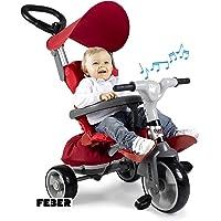FEBER- Triciclo evolutivo Baby Plus Music Prime (Famosa