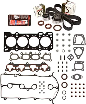 """Full Gasket Set+Head Bolts+Silicone for 1999-2000 MAZDA PROTEGE 1.8L DOHC /""""FP/"""""""