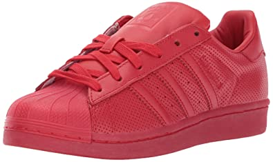 size 40 448ac eb053 adidas Originals Men s Superstar Adicolor Running Shoe, Scarlet, ...