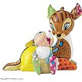 Enesco 4055230 Objet de Décoration Bambi et Pampan Figurine Résine multicolore 17,8 x 10,8 x 14,6 cm