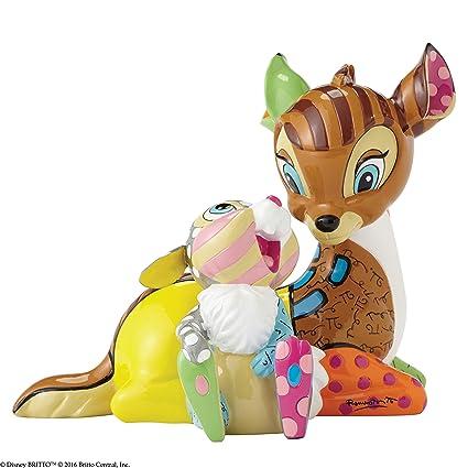 Disney Britto Bambi and Thumper Figurine - Multi-Colour