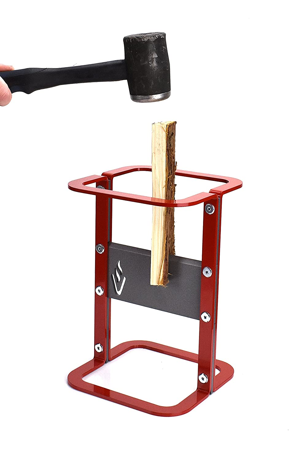 Volcann Kindling Splitter Firewood - Red