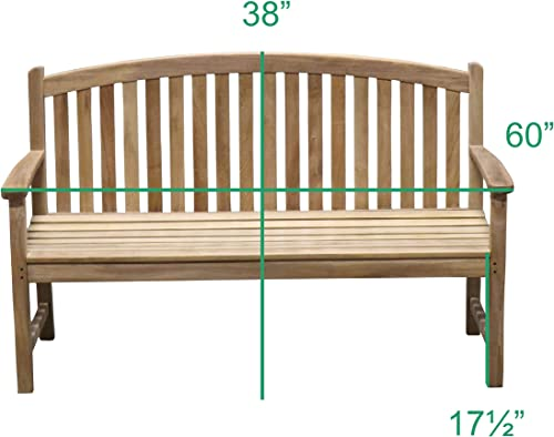 TITAN GREAT OUTDOORS Grade A Teak 60