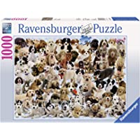 Ravensburger Dogs Galore - 1000 Piece Jigsaw Puzzle for Adults – Every Piece is Unique, Softclick Technology Means…