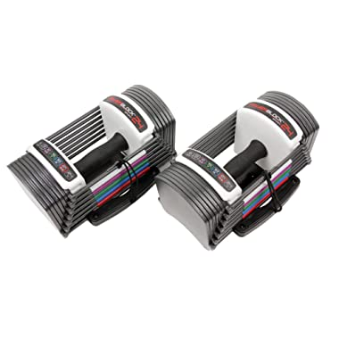 POWERBLOCK LLC Power Block GF-SPDBLK24 Adjustable SpeedBlock Dumbbells (Pack of 2)