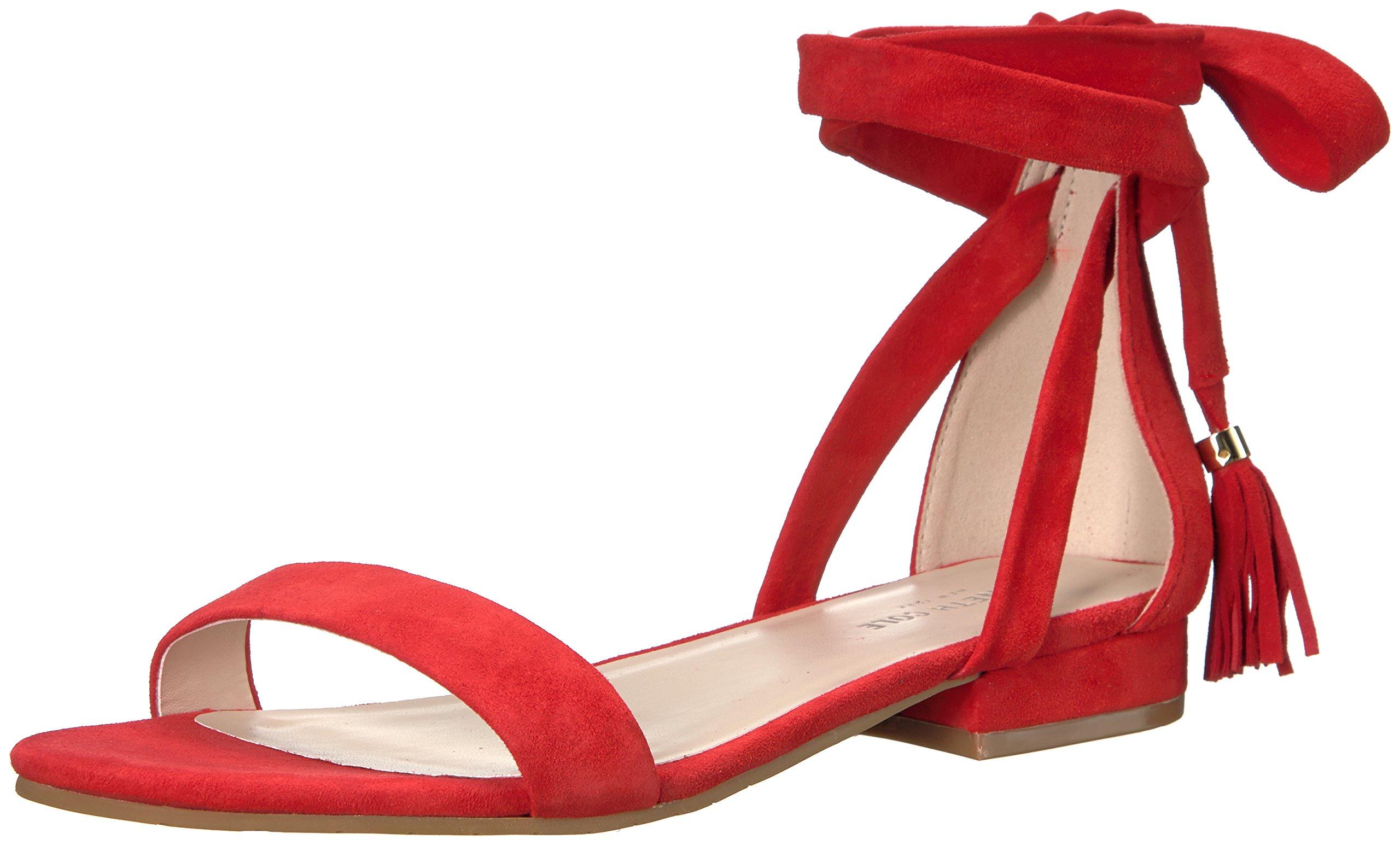 Kenneth Cole New York Women's Valen Gladiator Sandal, Red, 8.5 M US
