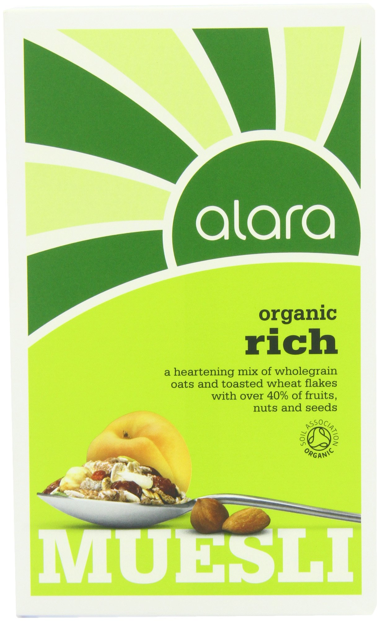 Alara Organic Everyday Rich Muesli 500g (Pack of 3)