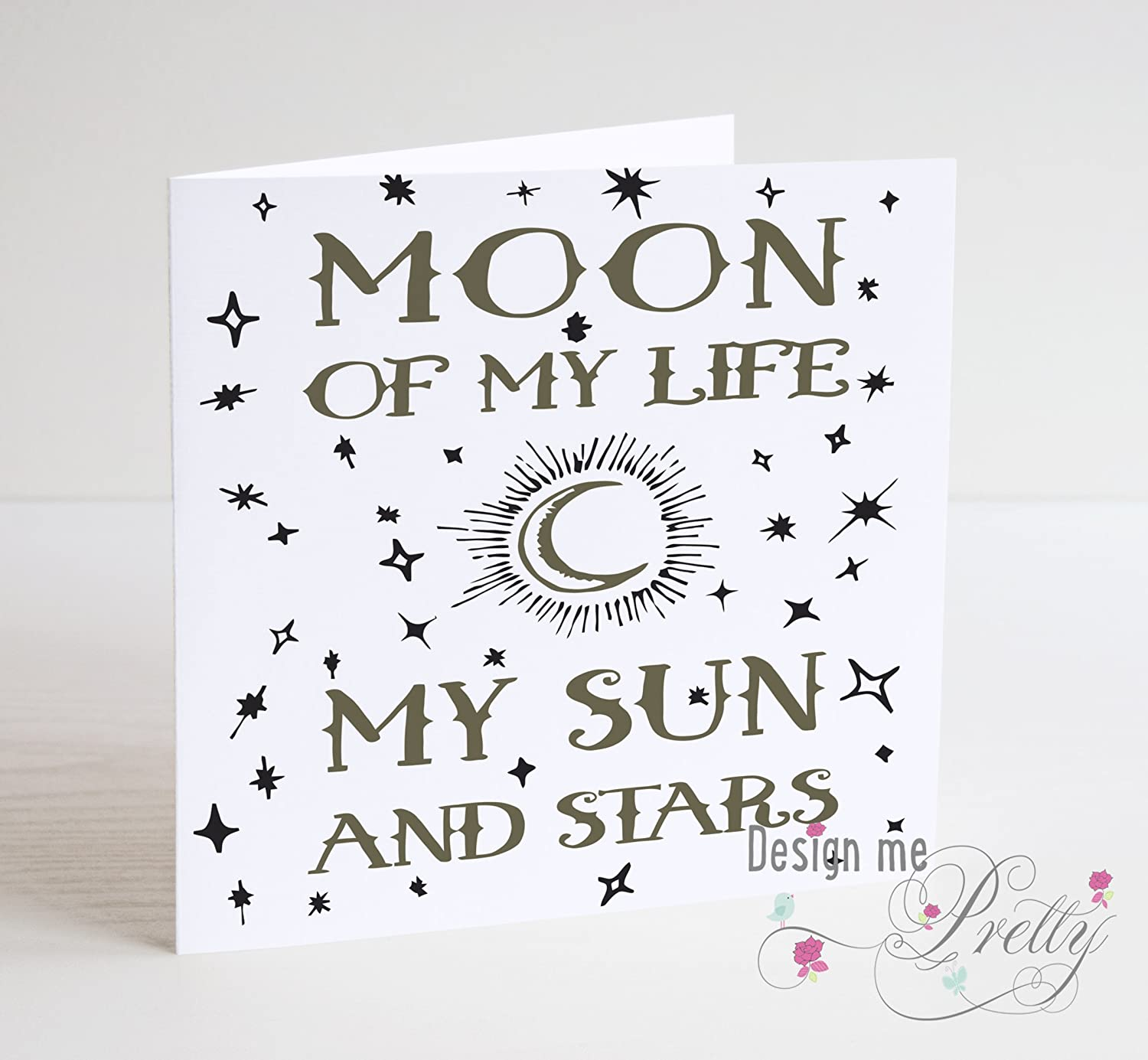 Game of Thrones Moon Of My Life Anniversary Card