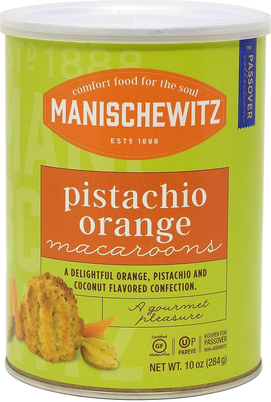Manischewitz Kosher For Passover Macaroon Pistachio Orange Gluten-Free