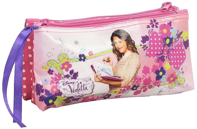 Violetta - Neceser pequeño doble (Safta 811429548): Amazon ...