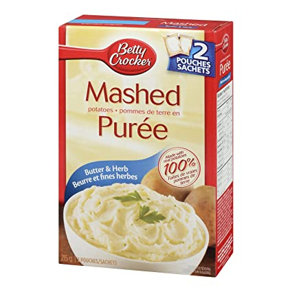 Betty Crocker Butter And Herb Mashed Potato 215 Gram Amazon