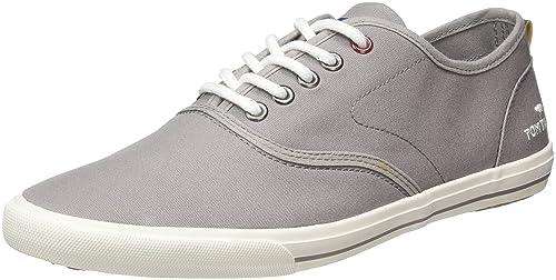 Tom Tailor 2789001 Zapatillas de Hombre Bajas, Color Gris, Talla 42