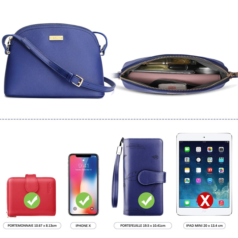 Citytasche Schultertasche Handtasche Rei/ßverschluss Abendtasche /Überschlagtasche City Clutch Party Zip Crossbody Bag Mode LeZiYou Damen Kleine Umh/ängetasche