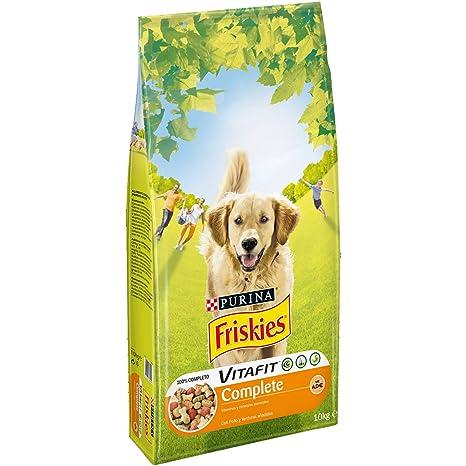 Purina Friskies Vitafit Complete Pienso para Perro Adulto Pollo 10 Kg