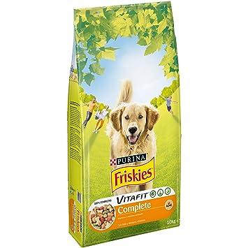 Purina Friskies Vitafit Complete Pienso para Perro Adulto Pollo 10 Kg: Amazon.es: Productos para mascotas