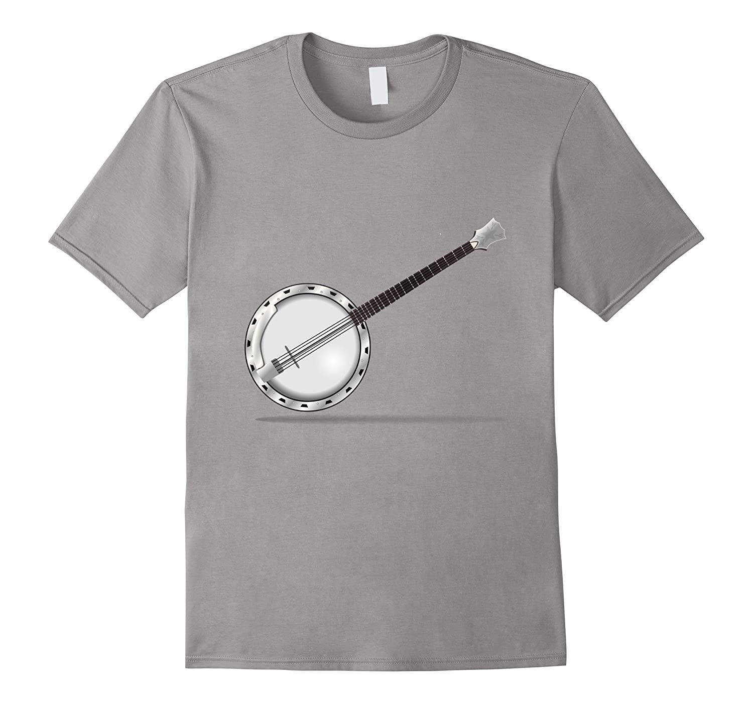Banjo t-shirt Musical Instrument Love Country Music-FL