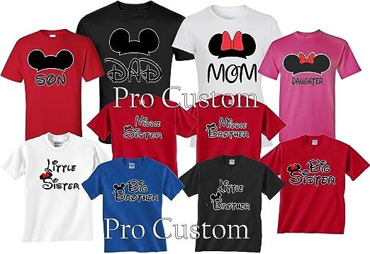 Daddy and Mommy Mickey and Minnie Shirts Set - Disney Trip Shirts 0UsAu3