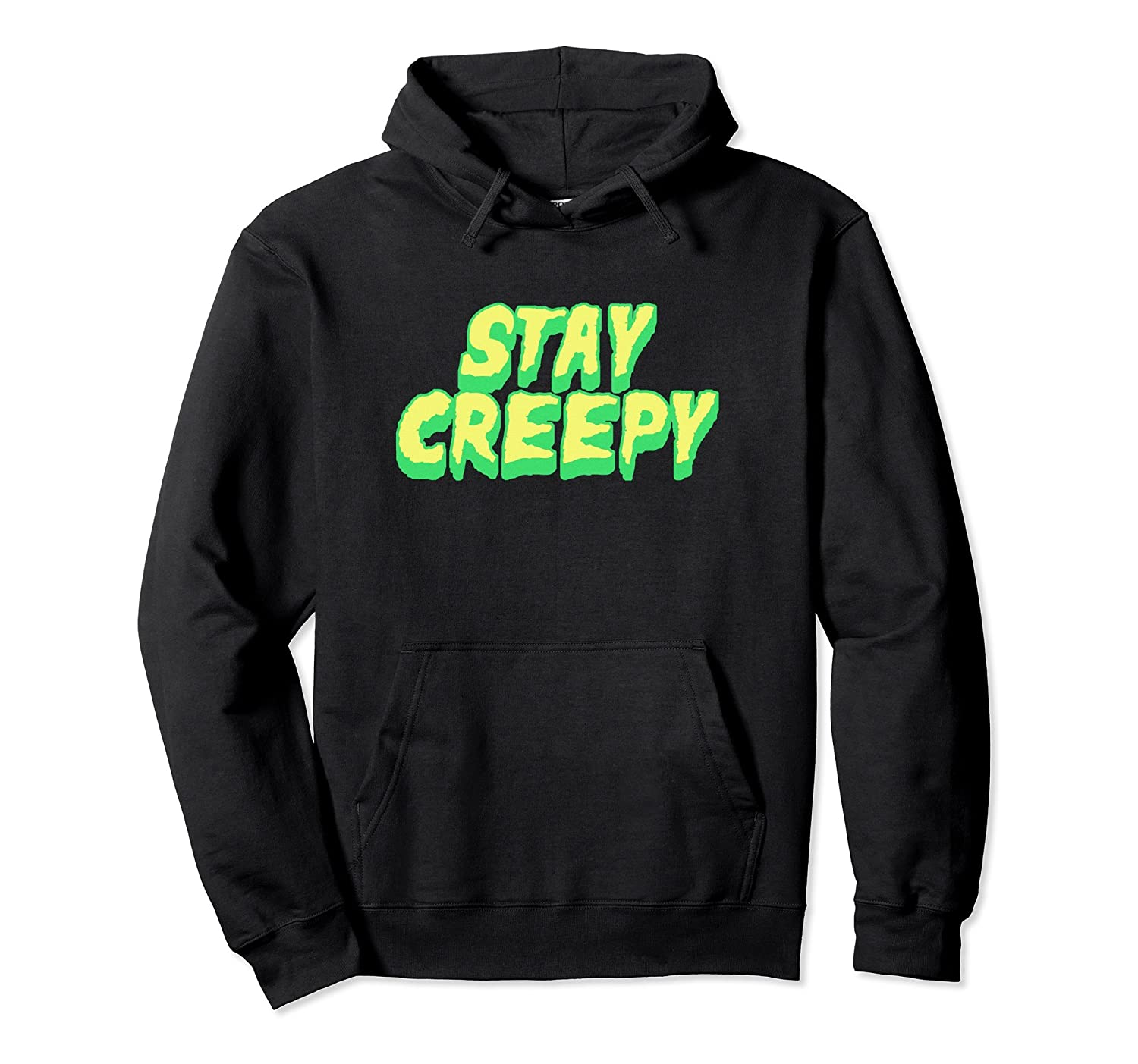 Funny Horror Movie Hoodie - Stay Creepy-Rose