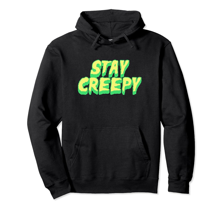 Funny Horror Movie Hoodie - Stay Creepy-Rose