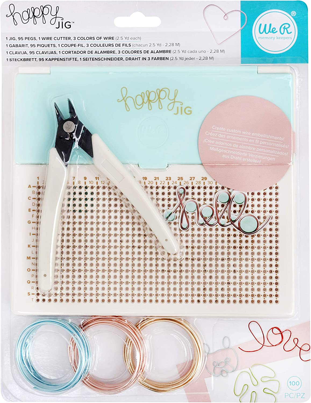 We R Memory Keepers Kit de Iniciación, Blanco, 28.5 x 21.6 x 4 cm