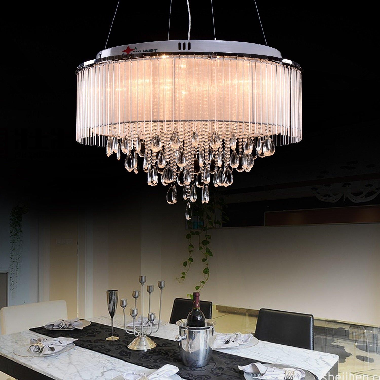 OOFAY LIGHT G4 8 Lights Modern Crystal Chandelier art Crystal