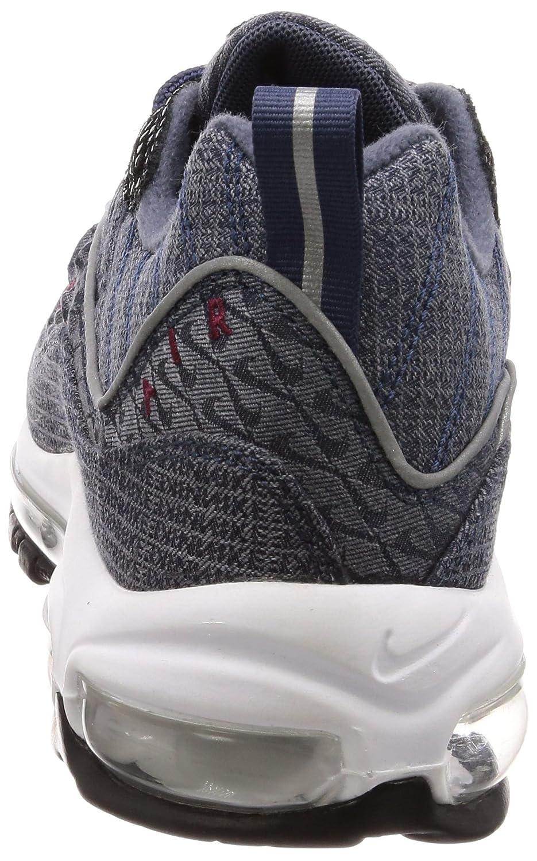 Nike Air Max 98 QS QS QS Thuder Blau Retro, Schuhe Herren 4ad9df